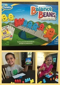 ThinkFun, Balance Beans, Educational games, logic, problem solving, math, games,