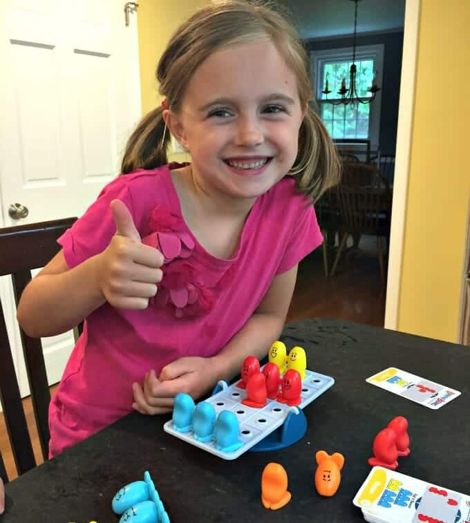 5 Fantastic ThinkFun Games for Families balance beans