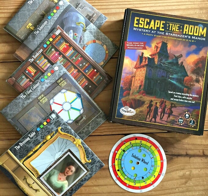 5 Fantastic ThinkFun Games for Families escape the room