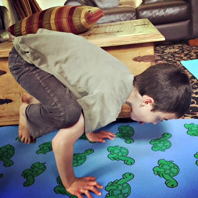 5 Fantastic ThinkFun Games for Families yoga spinner