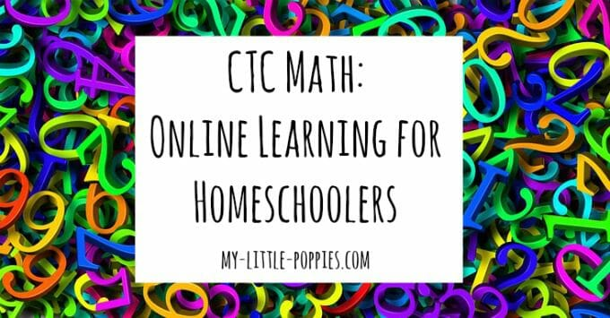 CTC Math: Online Learning for Homeschoolers