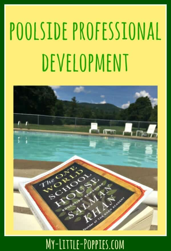 Poolside Professional Development My Little Poppies, education, books, parenting, homeschool, homeschooling, homeschool books, education books