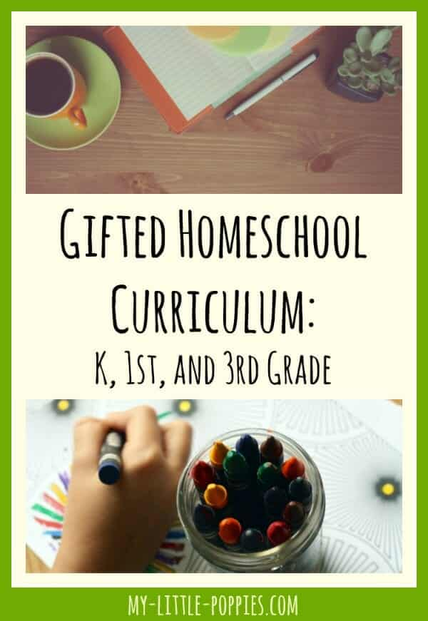 Gifted Homeschool Curriculum 2016