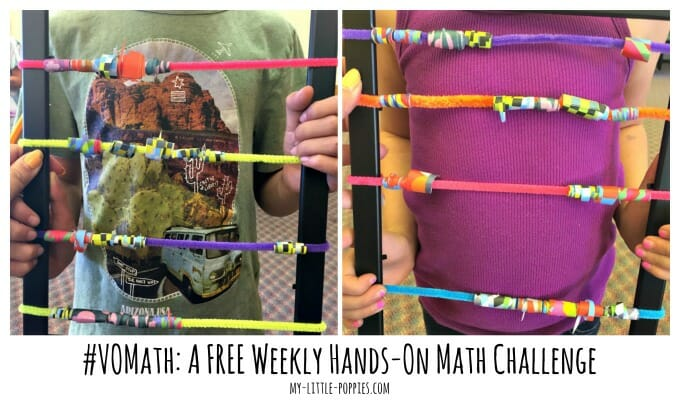 #VOMath: A FREE Weekly Hands-On Math Challenge Jade Rivera for My Little Poppies