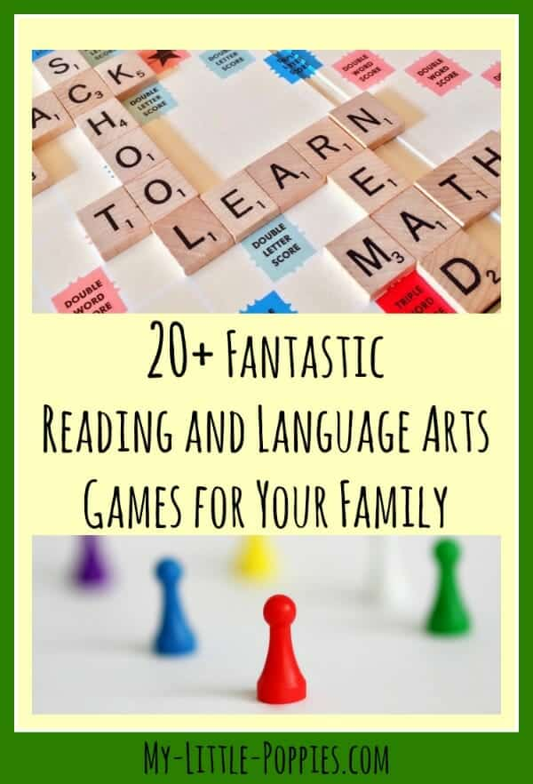 20+ Fantastic Reading and Language Arts Games