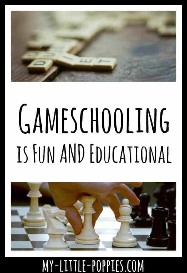 Gameschooling is Fun AND Educational: Check out our latest episode over on The Homeschool Sisters Podcast! | My Little Poppies