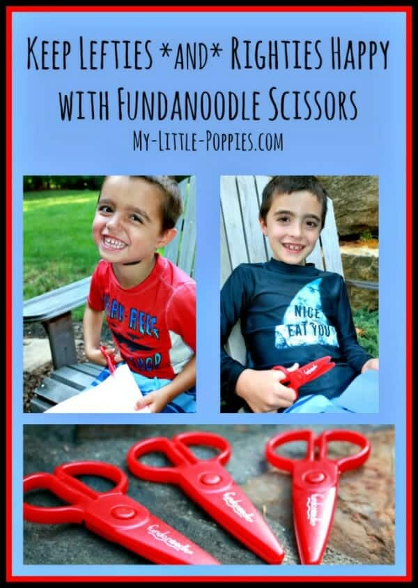 Fundanoodle Scissors Keep Lefties and Righties Happy