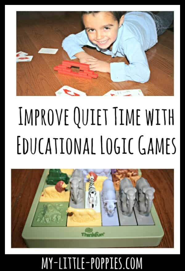 Improve Quiet Time with Educational Logic Games