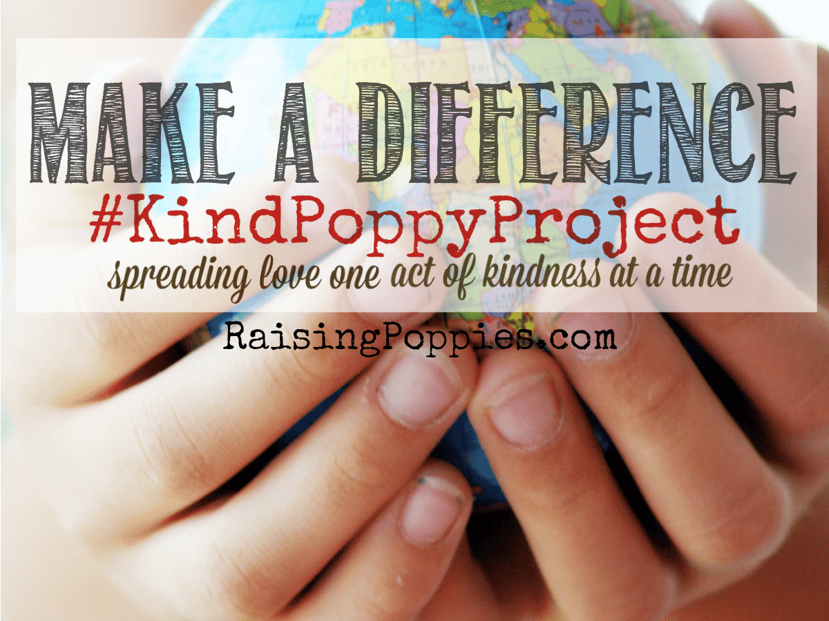 Make a Difference Join #KindPoppyProject Raising Poppies parenting gifted twice-exceptional children, KindPoppyProject #KindPoppyProject