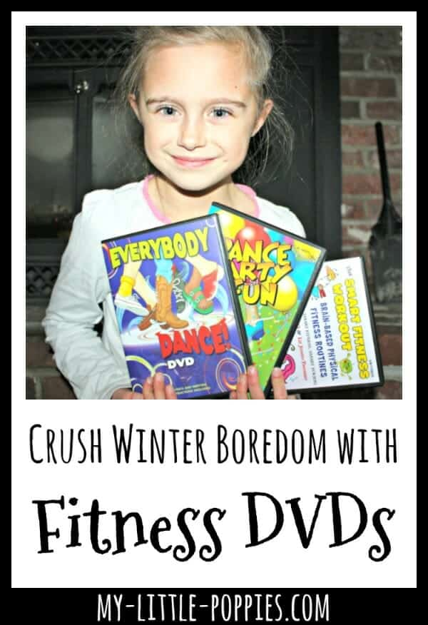 Crush Winter Boredom with Fitness DVDs from Educents | My Little Poppies
