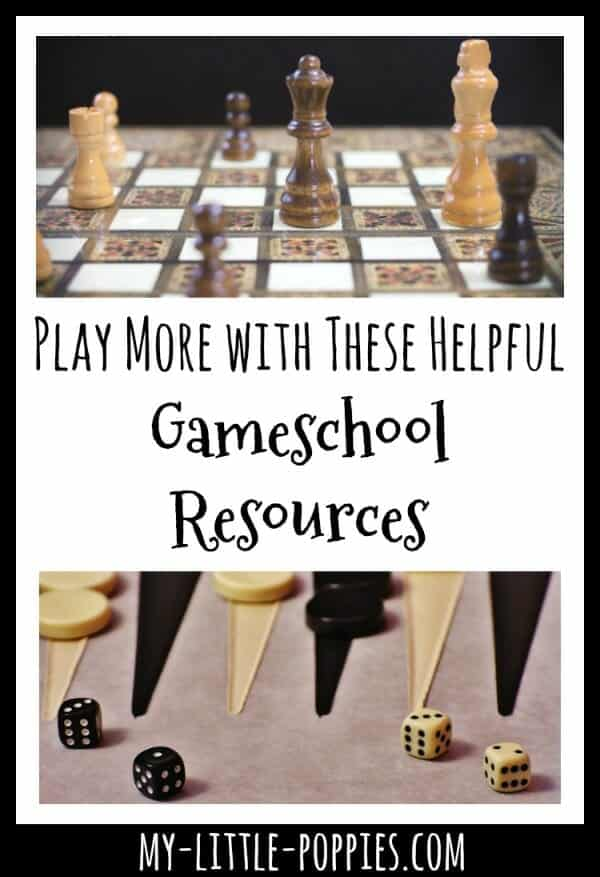 Play More with These Helpful Gameschool Resources