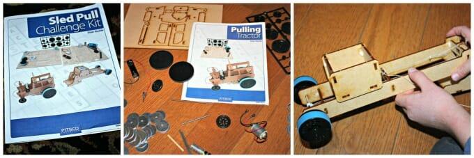 Pitsco sled pull challenge kit