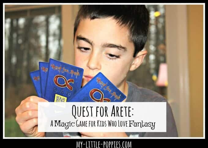 Quest for Arete: A Magic Game for Kids Who Love Fantasy | My Little Poppies