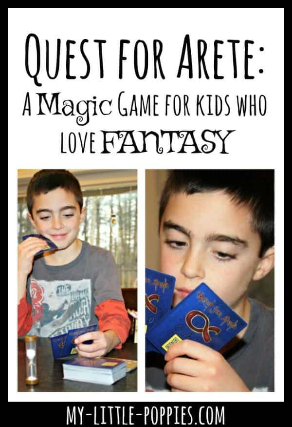 Quest for Arete: A Magic Game for Kids Who Love Fantasy