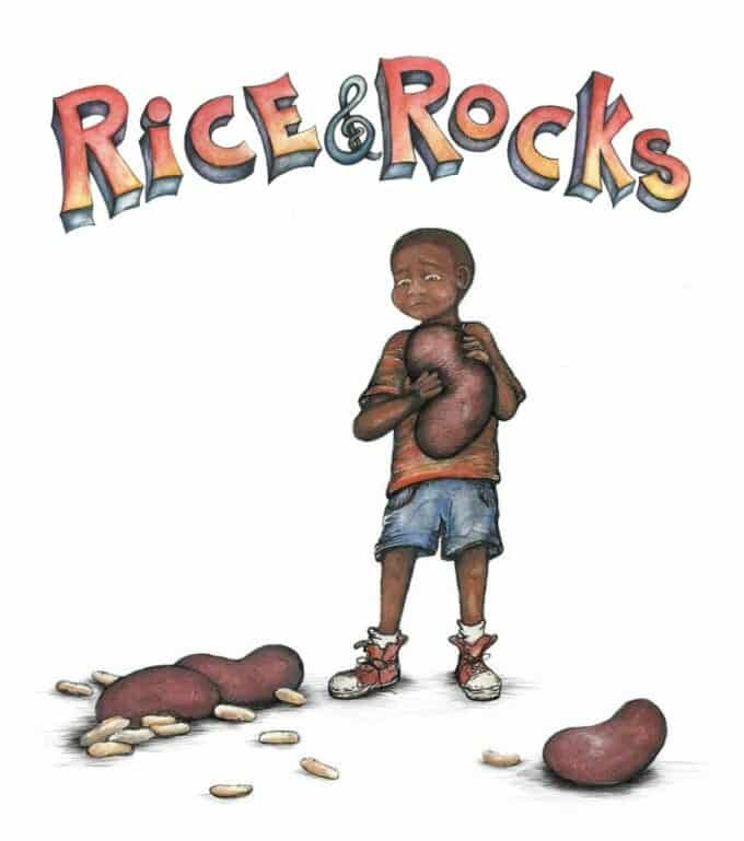 Celebrating Multicultural Children's Book Day 2017 with Rice and Rocks by Sandra L. Richards | My Little Poppies
