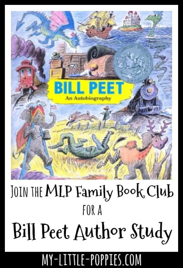 Join the MLP Family Book Club for a Bill Peet Author Study | My Little Poppies