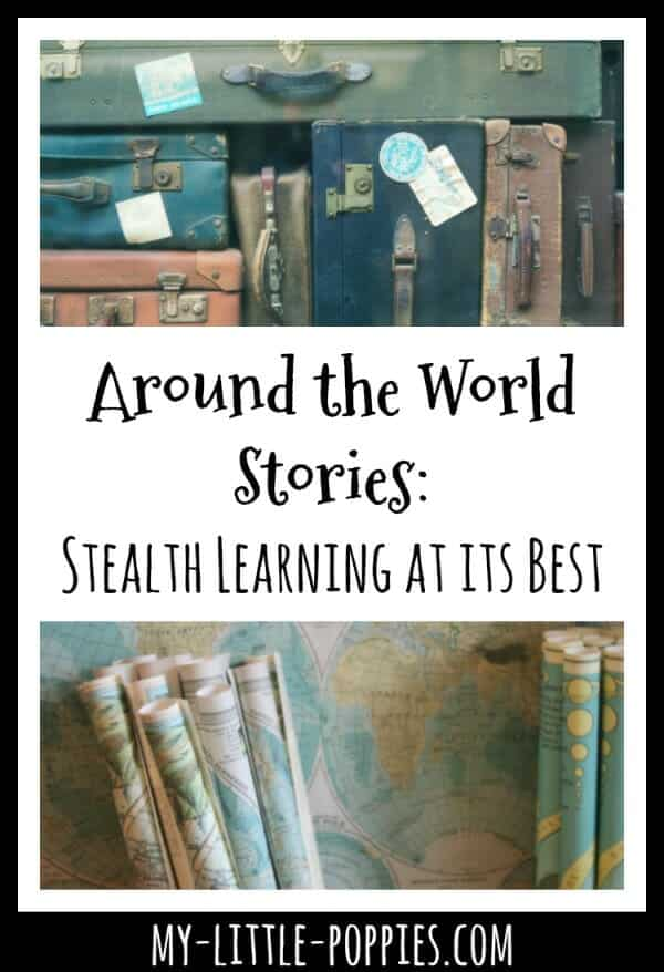 Around the World Stories: Stealth Learning at its Best