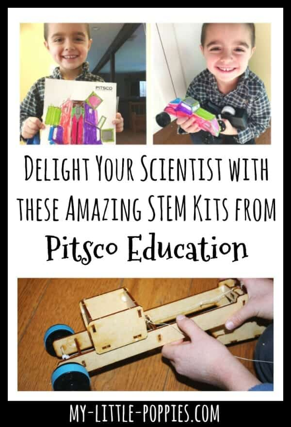 Delight Your Scientist with these Amazing STEM Kits from Pitsco Education | My Little Poppies