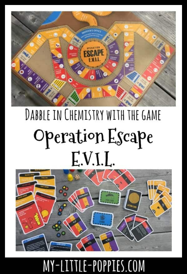 Dabble in Chemistry with the Board Game 'Operation Escape E.V.I.L.' created by Kitki
