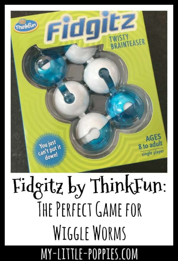 Fidgitz by ThinkFun: The Perfect Game for Wiggle Worms | My Little Poppies