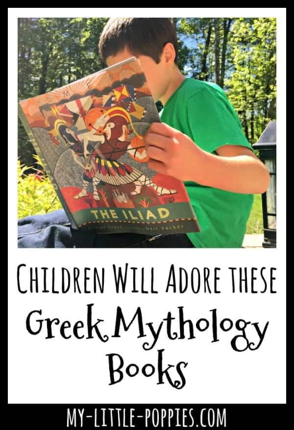 Children Will Adore these Greek Mythology Books | My Little Poppies