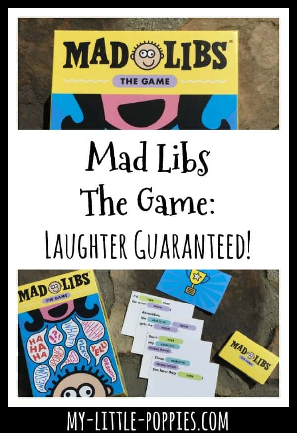Mad Libs The Game: Laughter Guaranteed! | My Little Poppies