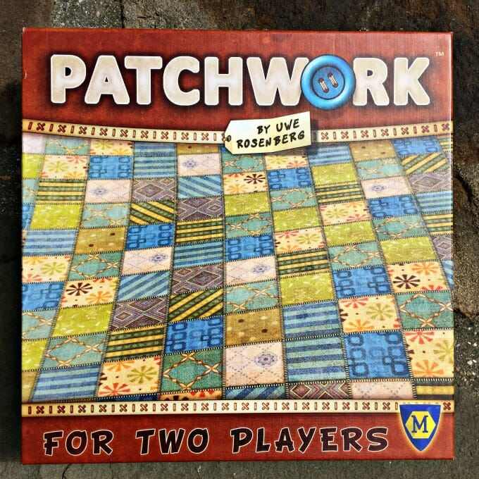 Patchwork: My New Favorite 2-Player Game | My Little Poppies