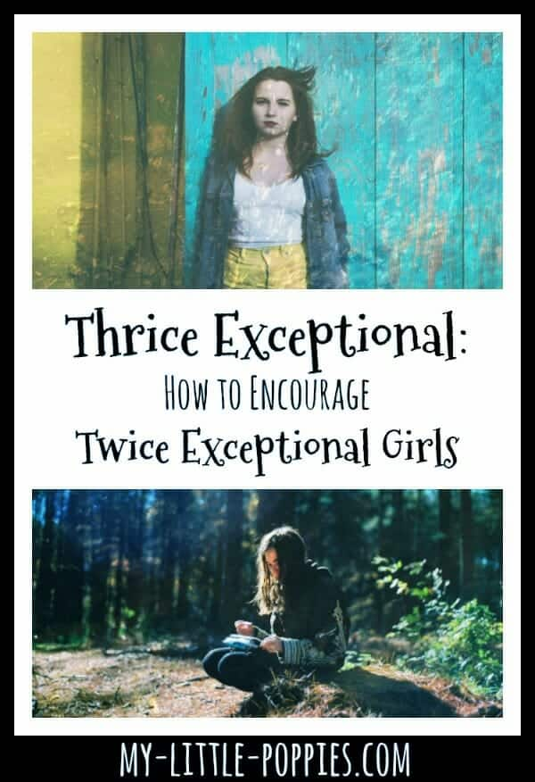 Thrice Exceptional: How to Encourage Twice Exceptional Girls