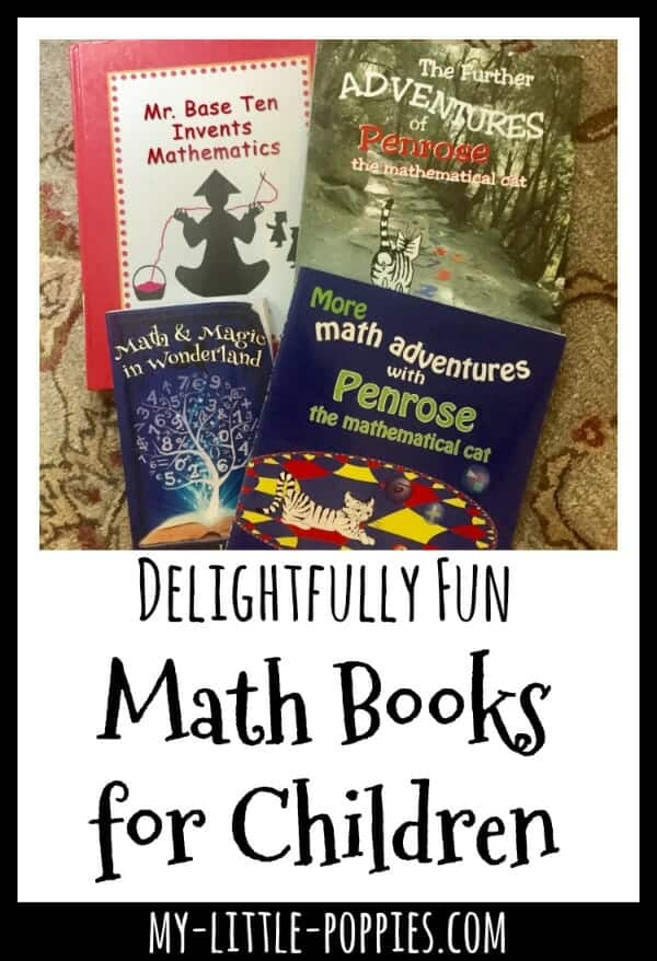 Delightfully Fun Math Books for Children | My Little Poppies