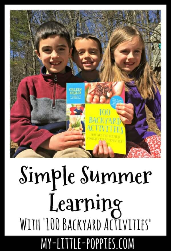 Simple Summer Learning with '100 Backyard Activities'