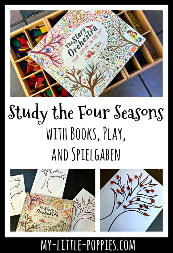Study the Four Seasons with Books, Play, and Spielgaben