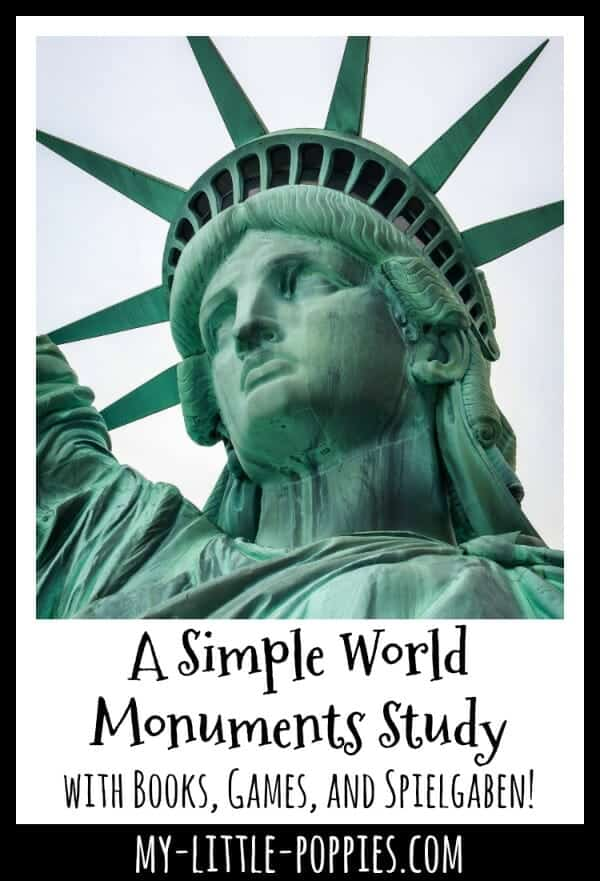 A Simple World Monuments Study with Books, Games, and Spielgaben!