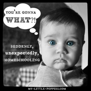 you're gonna what suddenly, unexpectedly, homeschooling
