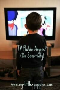 On Sensitivity- TV Phobia Anyone