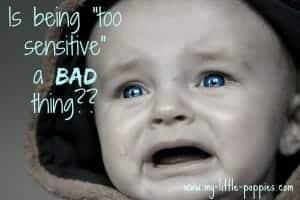 too sensitive