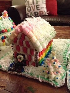 Rainbow Fairy House by Cait