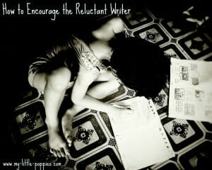 How to Encourage the Reluctant Writer