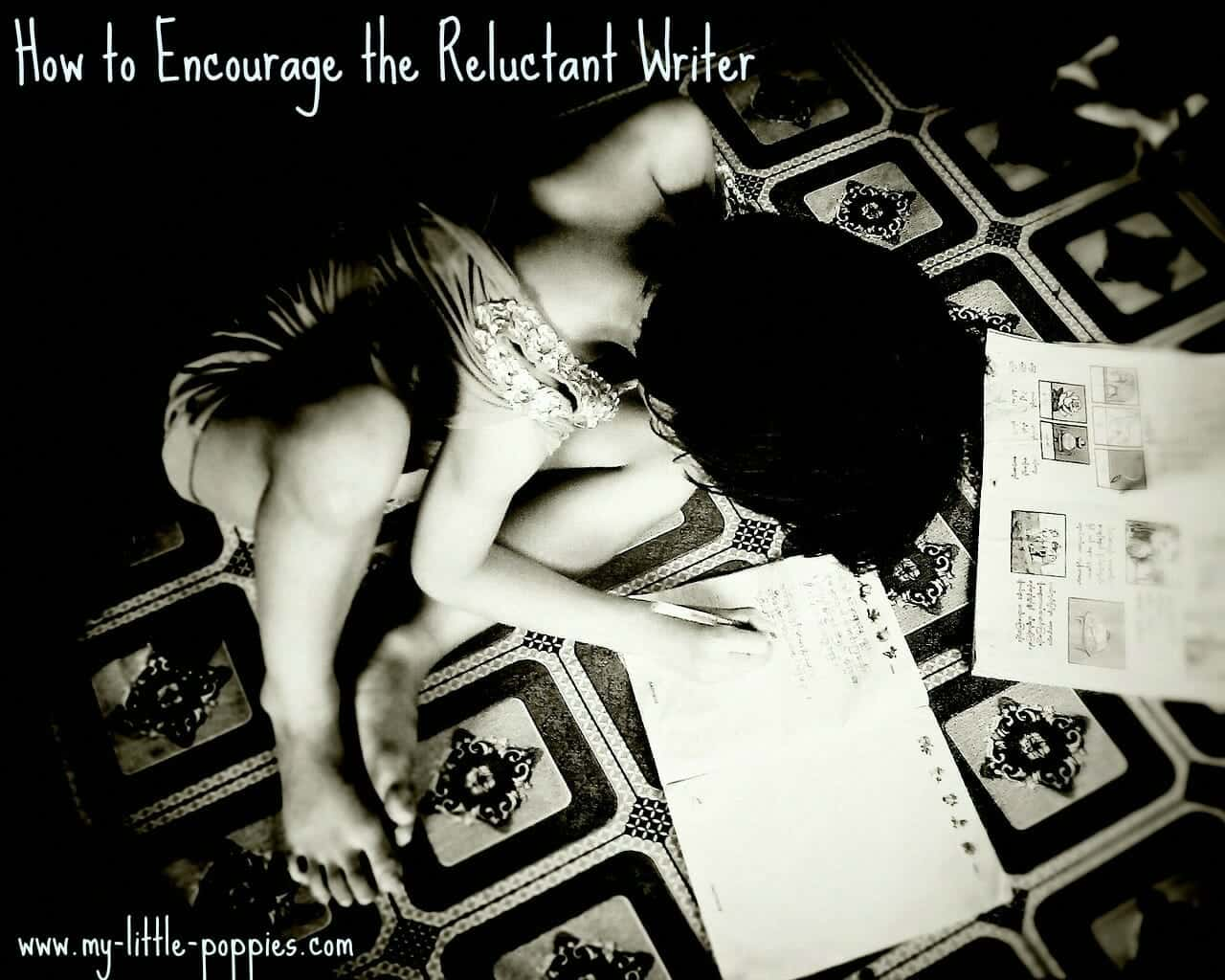 How to Encourage the Reluctant Writer, Simple Vacation Learning: Journals