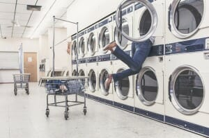 Do you feel swallowed up by laundry??