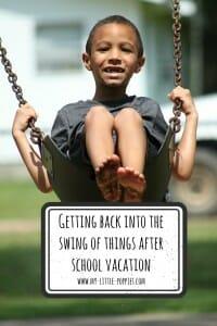 6b569c83e054 Back into the Swing of Things (School Homeschool)