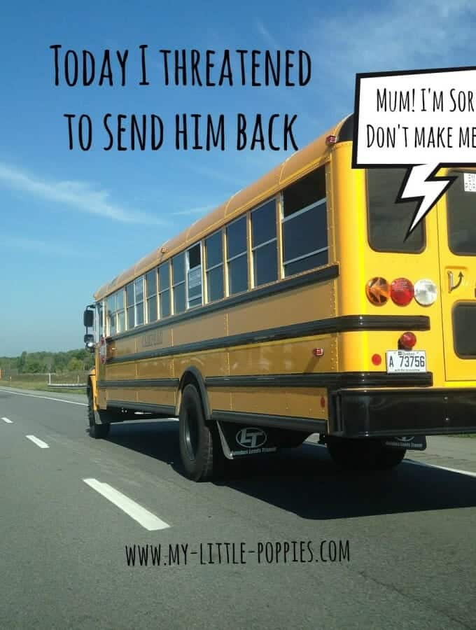 today i threatened to send him back, homeschool, gifted