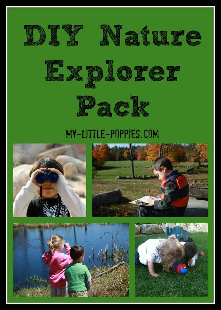 10+ Games to Get Kids Moving, DIY Nature Explorer Pack