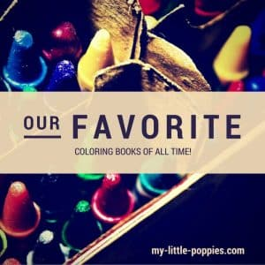 our favorite coloring books