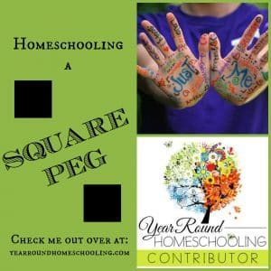 Homeschooling A  Square Peg