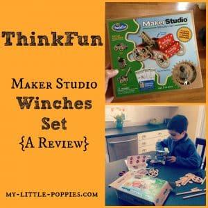 ThinkFun Maker Studio Winches Set Review