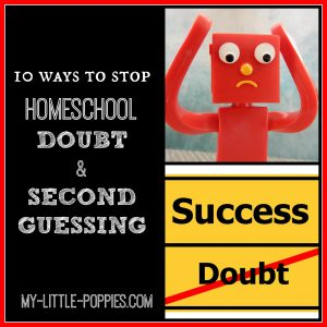 Homeschool Doubt and Second Guessing