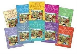 Usborne Internet-Linked First Thousand Words Library