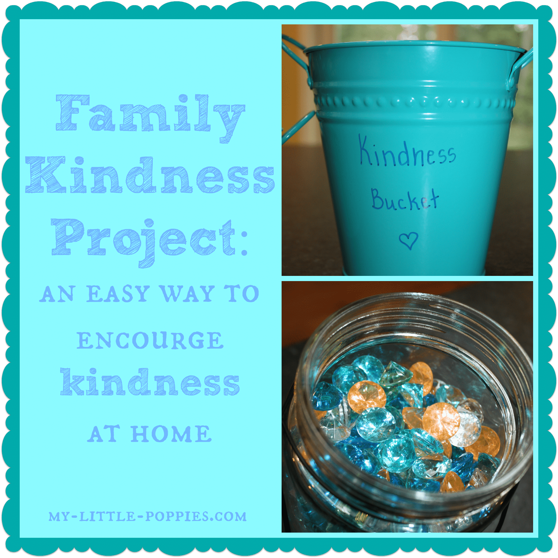 Family Kindness Project {Have You Filled A Bucket Today}