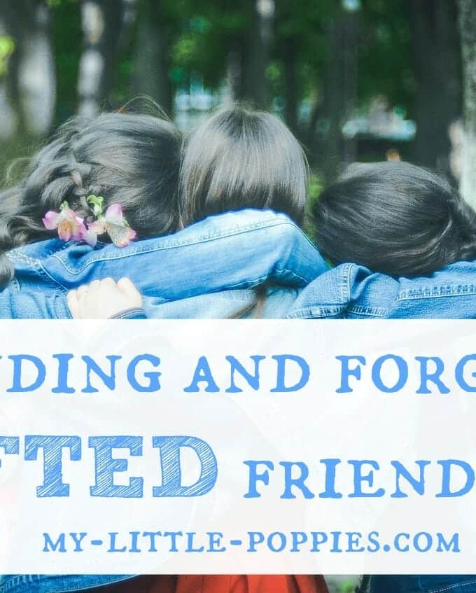 Finding and Forging Gifted Friendships