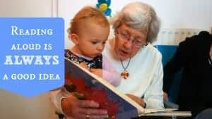 reading aloud is always a good idea
